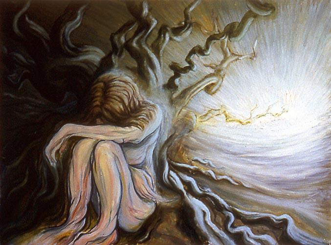 Michael Chaitow artist, painter, artwork, original artwork, painting. Body of work: Dawns.