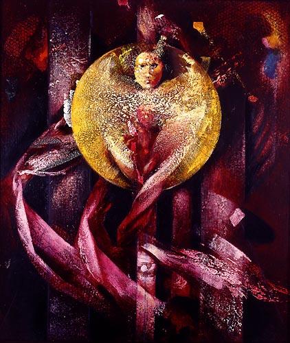 Michael Chaitow artist, painter, artwork, original artwork, painting. Body of work: The Human Heart.