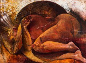 Michael Chaitow artist, painter, artwork, original artwork, painting. Dawn V, oil 2016