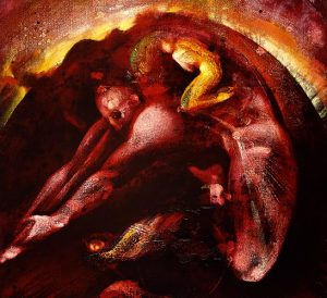 Michael Chaitow artist, painter, artwork, original artwork, painting. Dawn III, oil 2002